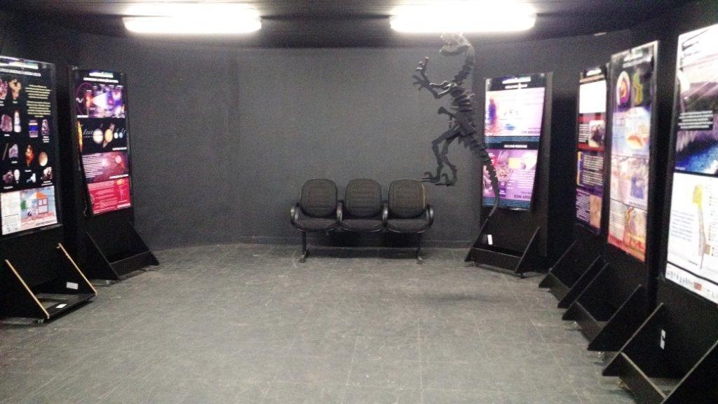 3º sala do Geomuseu: Sala do Paleoambiente.