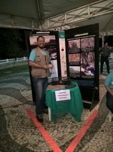 Anderson Palmeira na mostra do Geopark