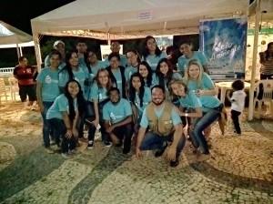 Equipe da Fundação de Meio Ambiente do Pantanal, monitores da UFMS-Biologia e Geopark BP