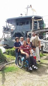 Anderson, Lígia, Dona Julia, Zilda, Pezão e Diego