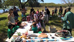 Atividades de educação socioambiental Geopark
