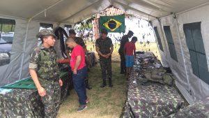 Estande Exército Brasileiro