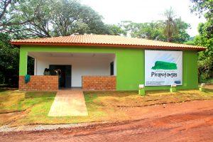 Sede do Parque Municipal Piraputangas