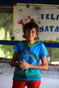 Dona Julia- presidente da associação de moradores da APA Baía Negra