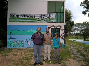 Sr. Carlos Ruso, Anderson e Sra. Julia